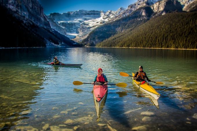 Choose Black or Red for your TRAK Kayak