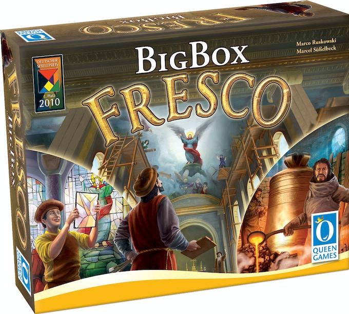 fresco big box by queen games kickstarter. Black Bedroom Furniture Sets. Home Design Ideas
