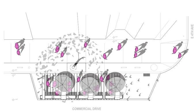 Parklet Plan Drawing