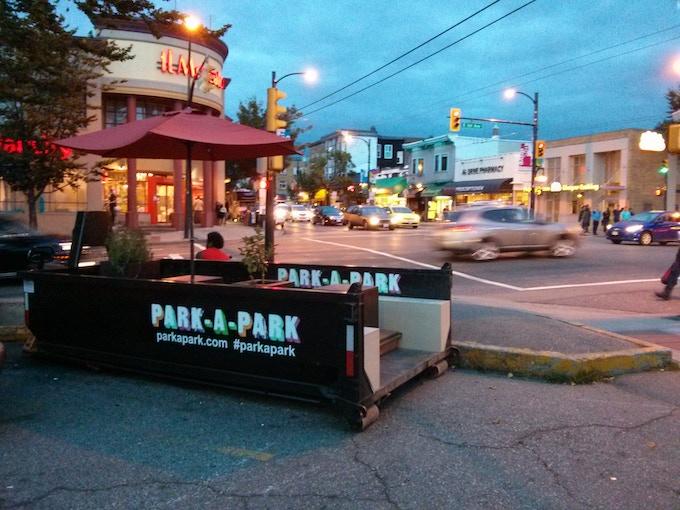 Julien's Park-a-Park project