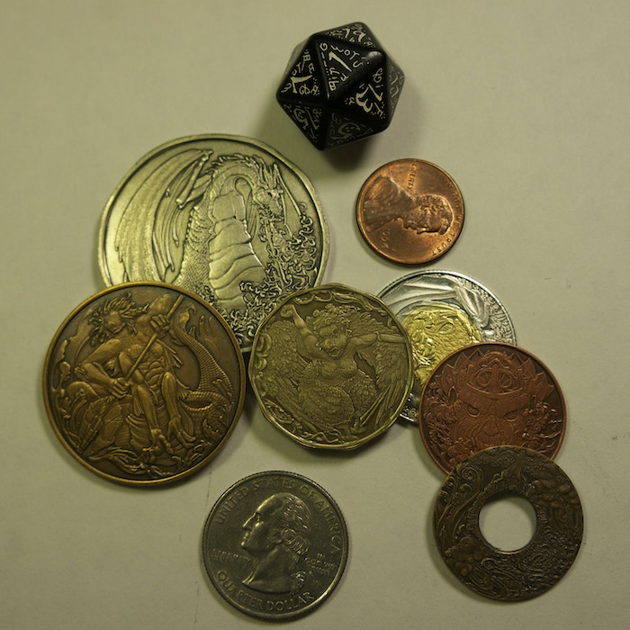 Rare Elements - Elemental Fantasy Currency Set - Relaunch! by