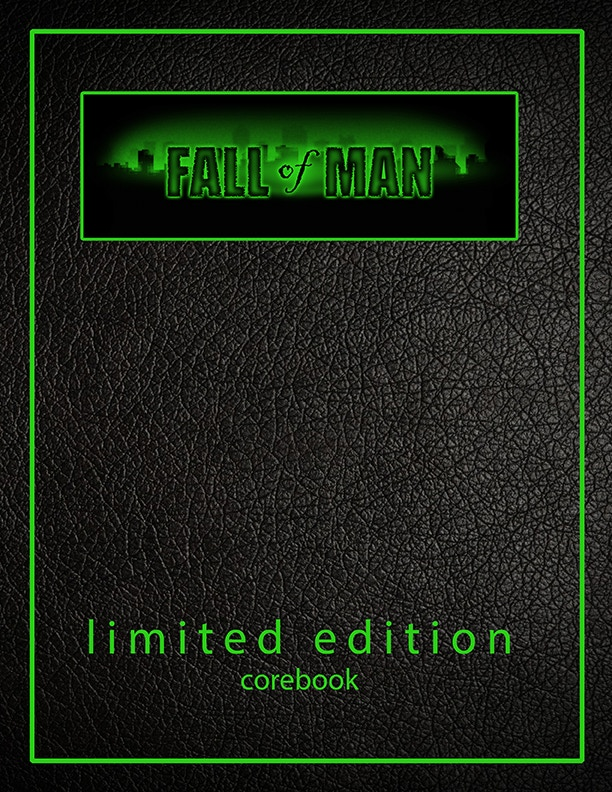 Fall of Man Limited Edition Corebook (glow in the dark ink)