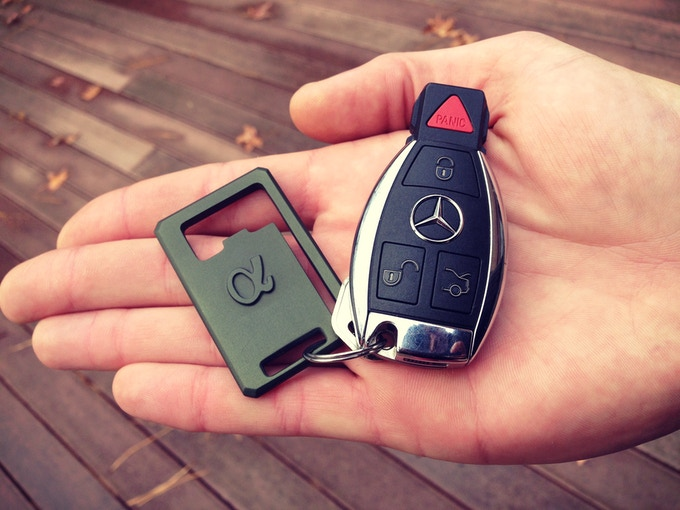 It's as cool as keychain can get.