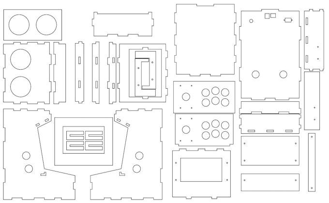 Porta Pi Arcade: A DIY Mini Arcade Cabinet for Raspberry