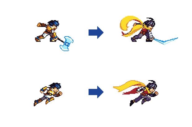 Character design courtesy of backer Seizui