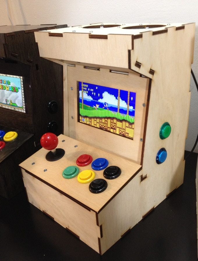 porta pi arcade a diy mini arcade cabinet for raspberry pi by ryan bates kickstarter. Black Bedroom Furniture Sets. Home Design Ideas