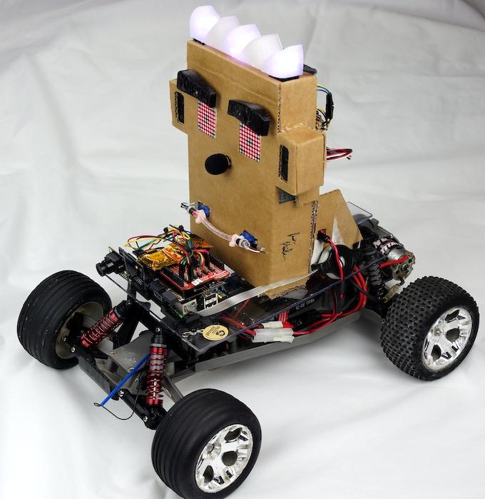 LOGi-Face Driving LOGi-Bot