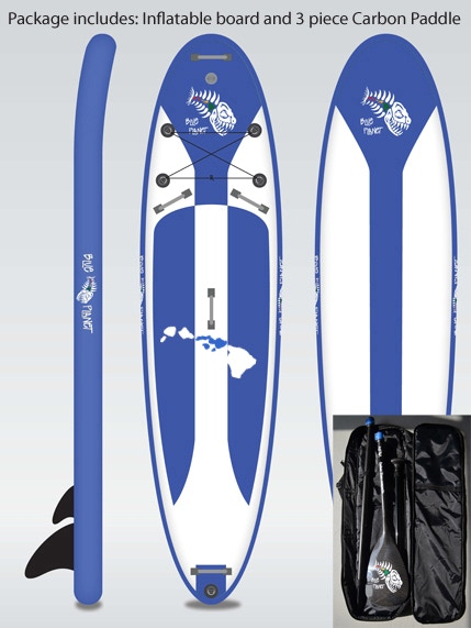 Blue Planet Inflatable SUP board project by Robert Stehlik