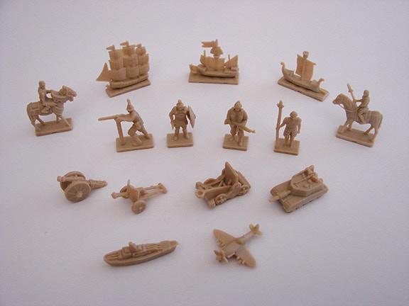 Civilization military units (no horse spearmen shown)