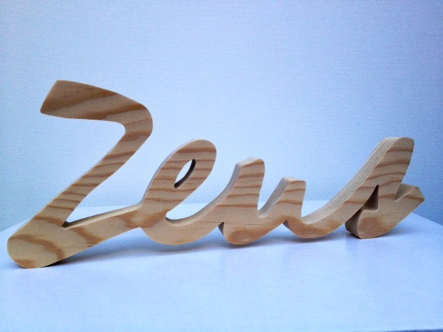"Personalized name: Capital letters measure approximatively 4"" tall and small letters 2-3""."