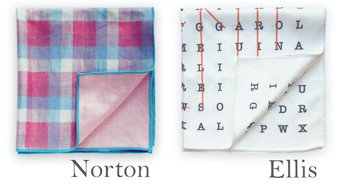 Declan Squared - Microfiber pocket squares & handkerchiefs