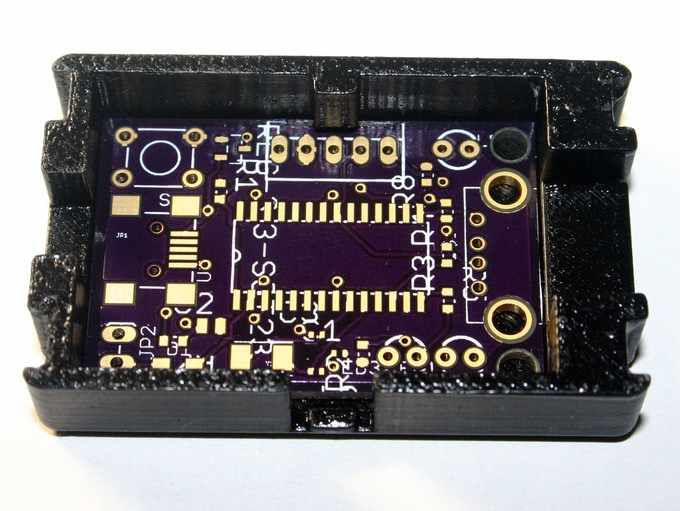 EkZee PCB Inside the Designed Enclosure