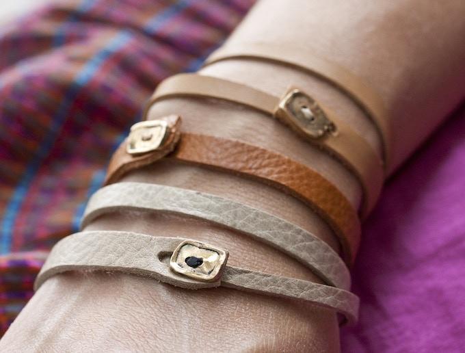 Box wrap bracelet