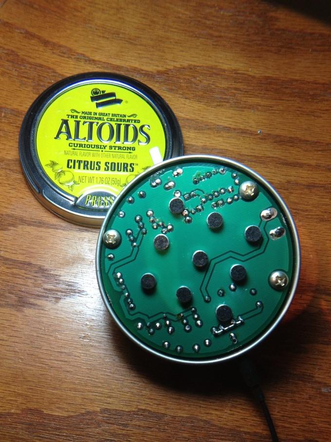 Version 1 Through-hole Wear in an Altoids Tin