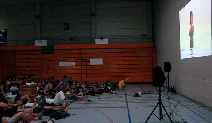 Feedback screening at Freiburg 2012.