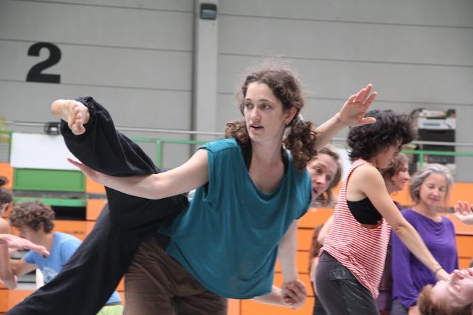 Alyssa at the closing jam at Freiburg 2013.