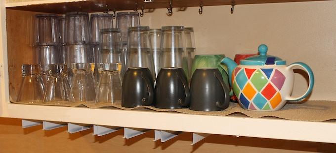Cluttered cupboard?