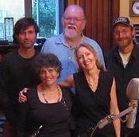 Keeth, Orville, Matt, Anke & JK @ ToolShed SoundLab, Port Townsend