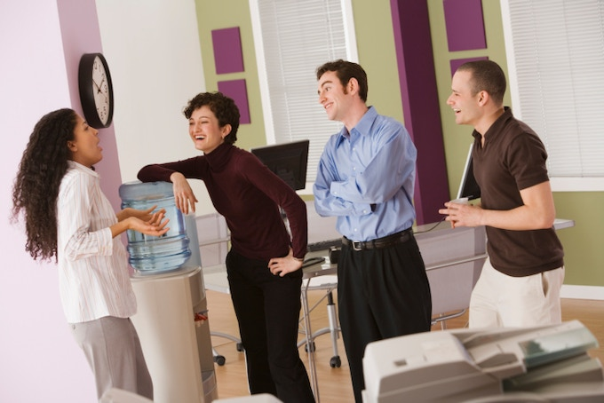 """Water cooler """"Social Media"""" in offices"""