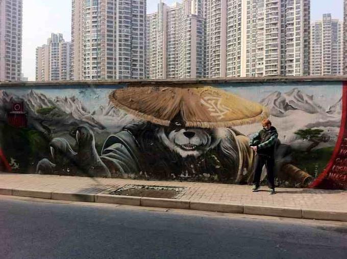 Fraser in Shanghai