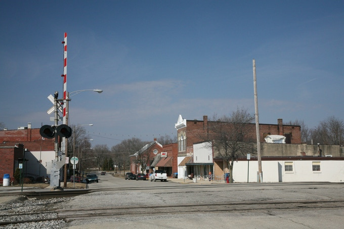 Downtown Sidney Illinois