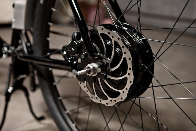 Optonal Geared Hub Motor