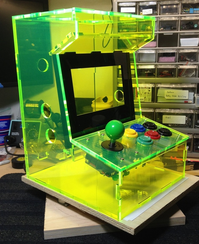 Porta Pi Arcade A Diy Mini Arcade Cabinet For Raspberry Pi By Ryan