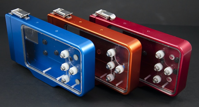By anodizing the aluminum parts, we can provide vitually any color.