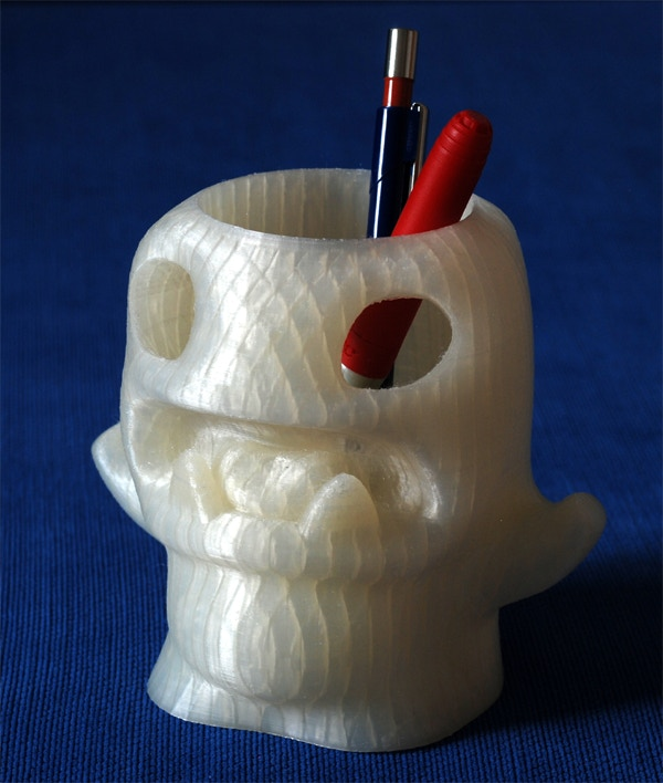 "No 3DMonstr Kickstarter page would be complete without a print of a monster!  When you visit our website, please remember we left out the ""e"" in monstr because we needed it for our four LittleTitan-Filament ""e""xtruders @ 3DMonstr.com."