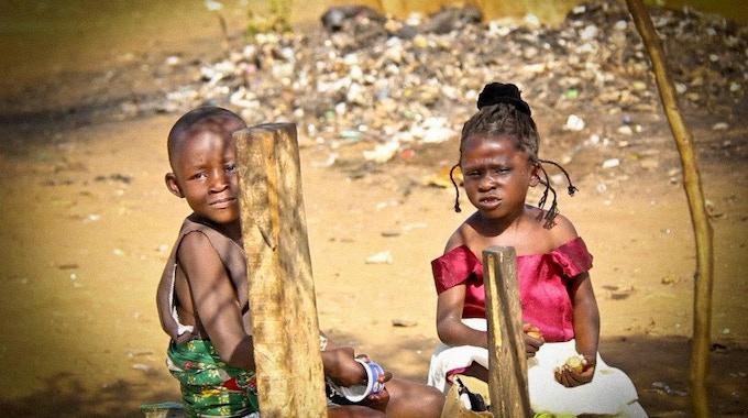 Children in Dandora