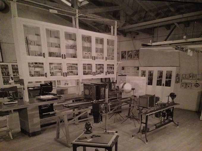 The PreFAB Space as a CSI Lab in the Late 1940's
