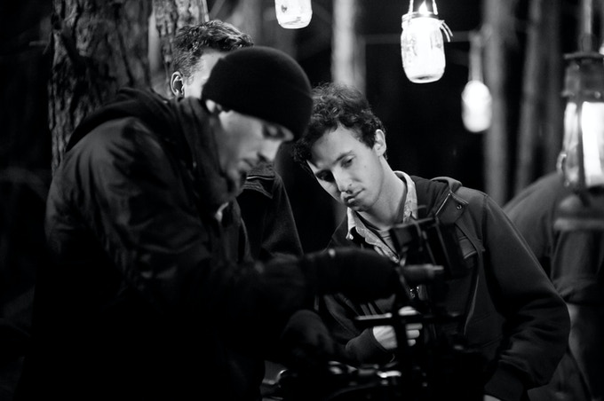Cinematographer Tate McCurdy (left) and Director Adam Nelson (right)
