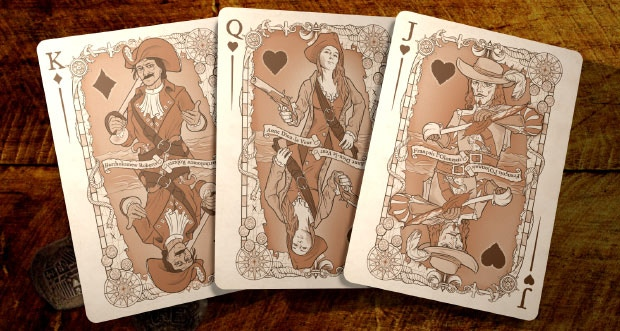 Diamonds Hearts Court Spread - Click for High Resolution Images