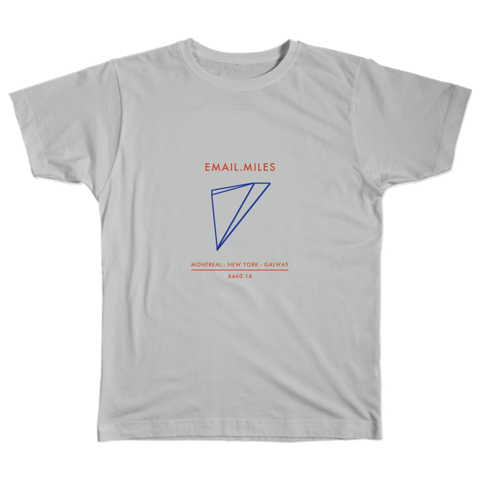 Email Miles T-Shirt Design