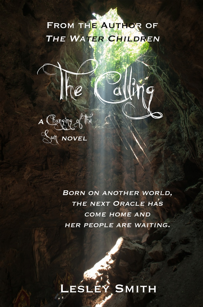 And here's The Calling cover ... Again, it's purely to give you something to look at. The final cover will be awesome.
