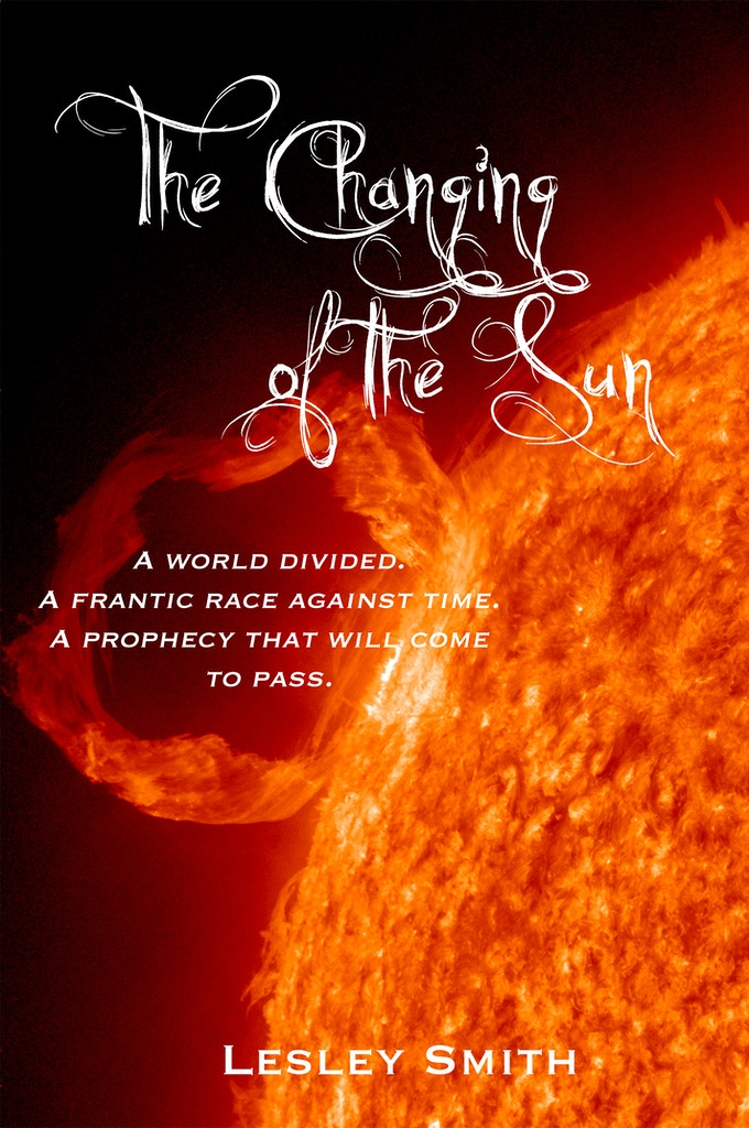 This is my temporary cover for The Changing of the Sun, the first of a trilogy set on an alien world being ravaged by a solar storm. The actual cover will be much more awesome and done by artist extraordinaire JASON GURLEY
