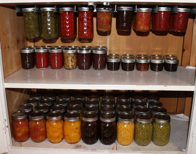 Unclutter your pantry.