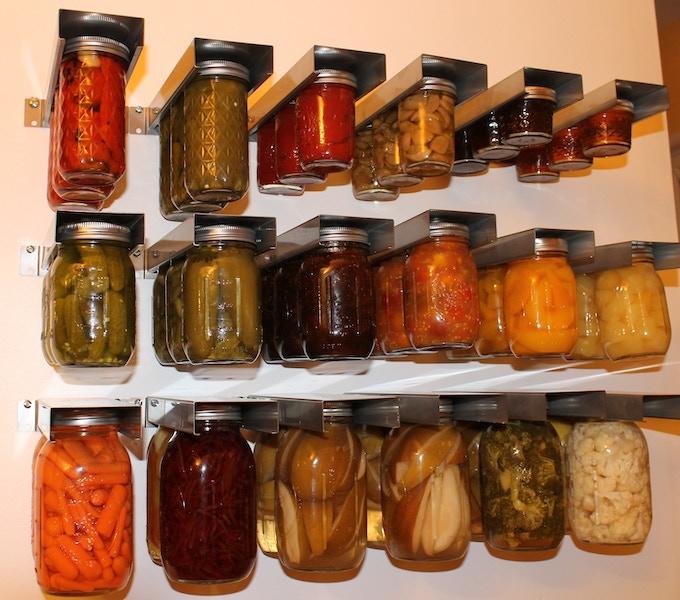 Use Mom's Mason Jar Hanger on any wall.