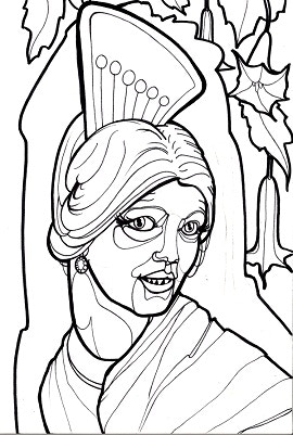 cryptid coloring pages - photo#14