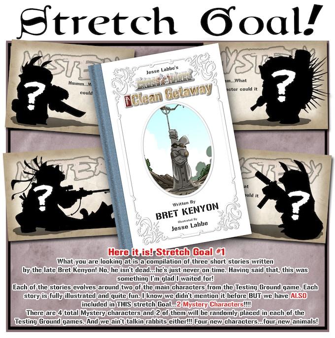 Stretch Goal #1 NOW UNLOCKED!