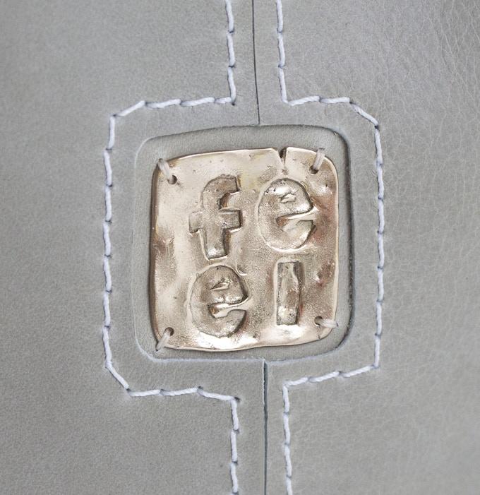 FEEL Logo on Stone