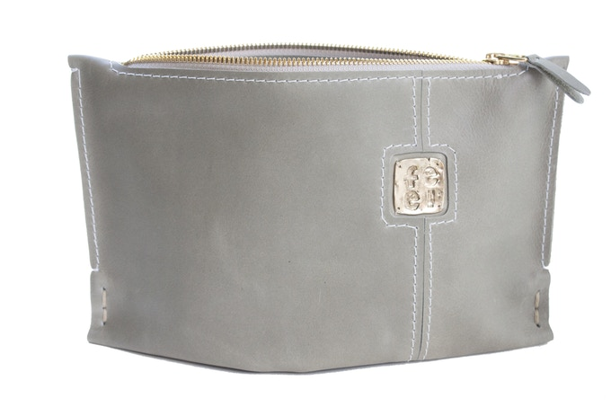 Small Stone Clutch with FEEL Logo