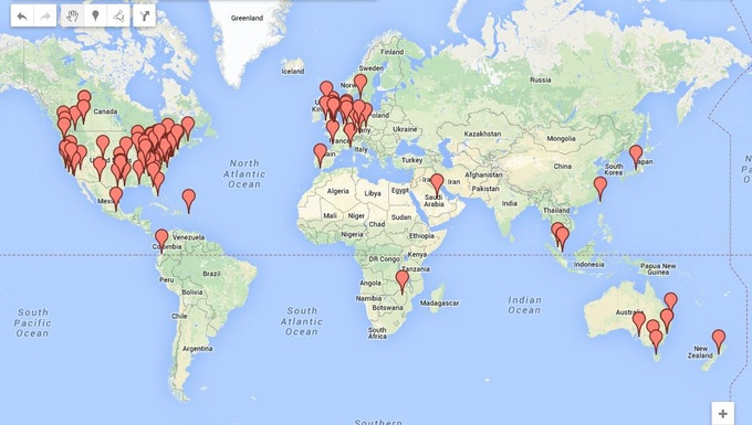 Click to See and Updated Backer Map!