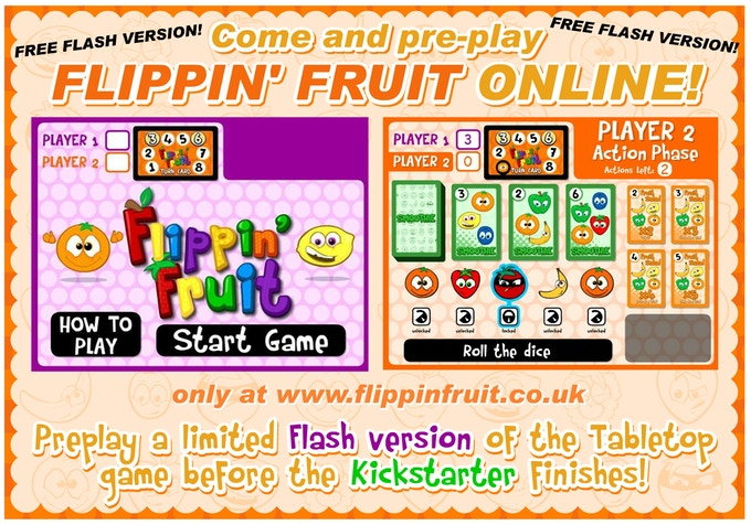 Flippin' Fruit the Online Flash Game
