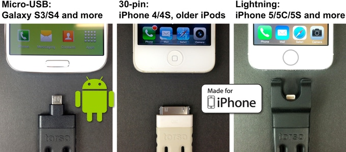 Be sure to select your reward so that it matches your phone! And note that the Micro-USB version will work with just about *any* phone that has the Micro-USB connector centered on the bottom!