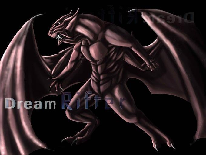 A denizen of dark dreams