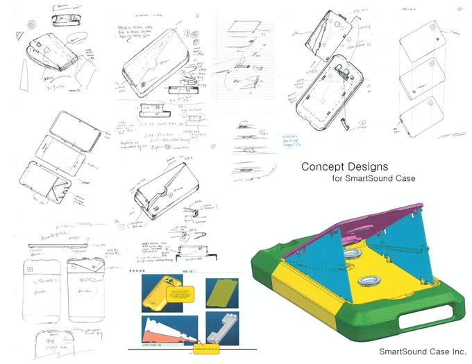 Concept Sketches/3-D Rendering