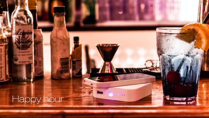 Ark The Next Generation Portable Wireless Charger By