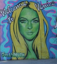 Welcome to Venice By Jules Muck as seen on TMZ