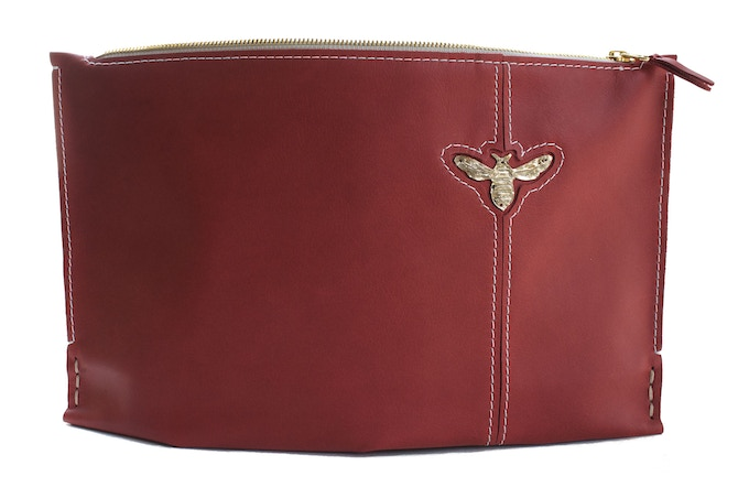 Large Vintage Red with Bee